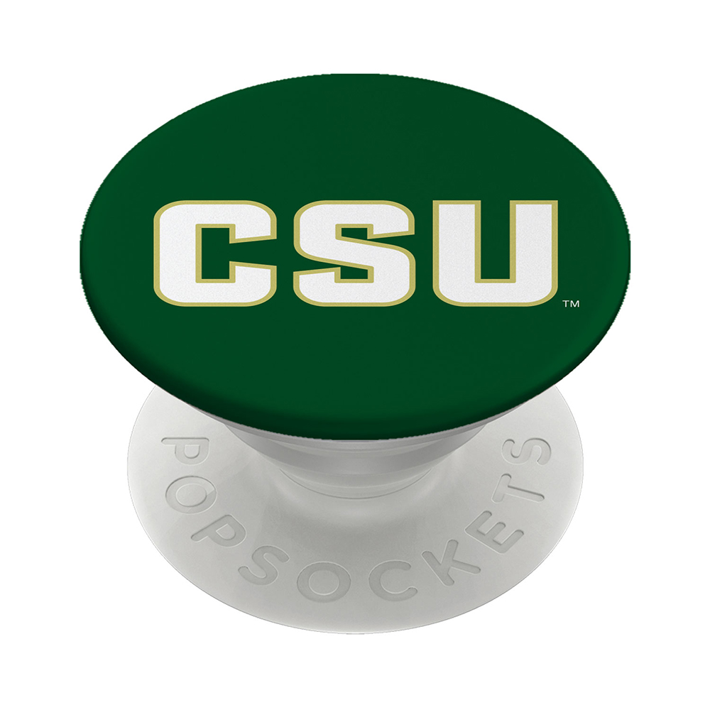"Image For Green Colorado State Rams ""CSU"" PopSocket"