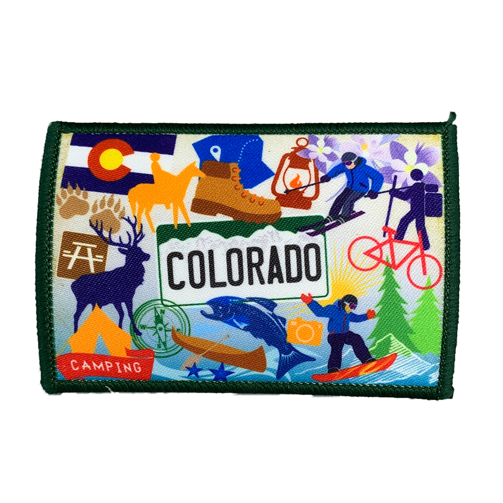 Cover Image For Colorado Collectible Iron on Patch