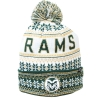 CSU Rams White and Green Blitzen Knit Cap by Zephyr Image