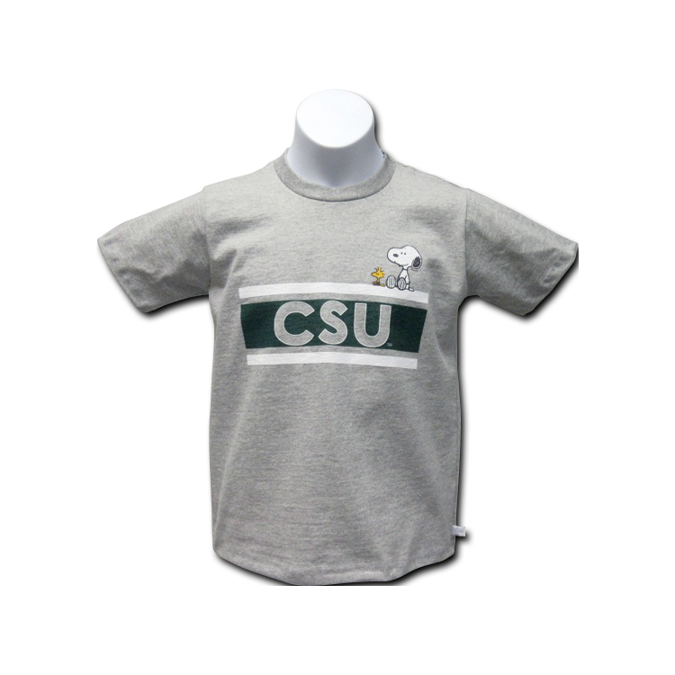 Image For Colorado State Snoopy CSU Youth Logo Tee