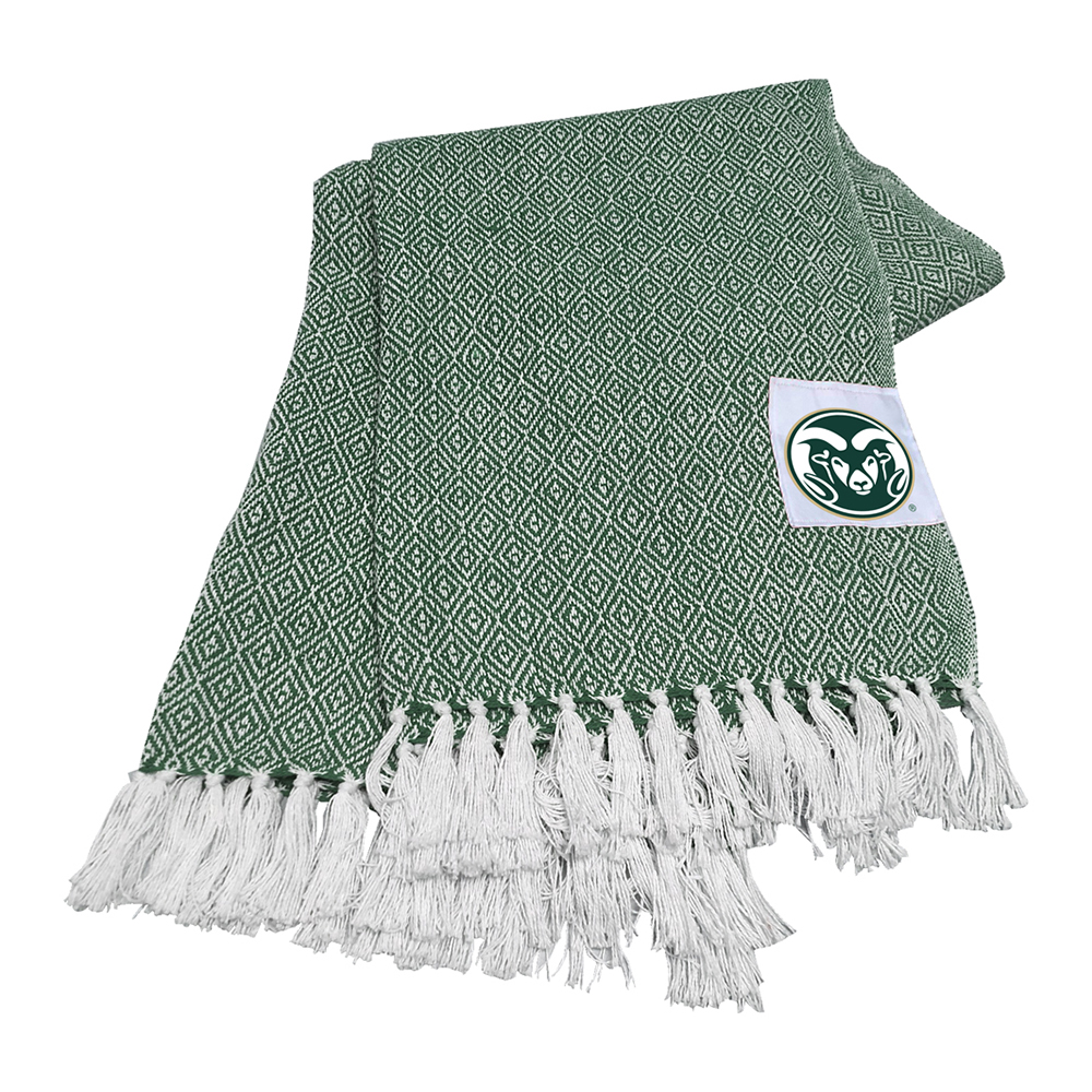 Cover Image For Colorado State Farmhouse Throw Blanket