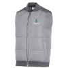 Men's CSU Rams Grey Puffer Vest by Champion Image