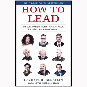 Image For How to Lead by David M. Rubenstein