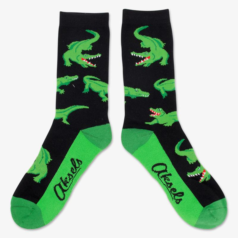 Cover Image For Alligator Socks by Aksel