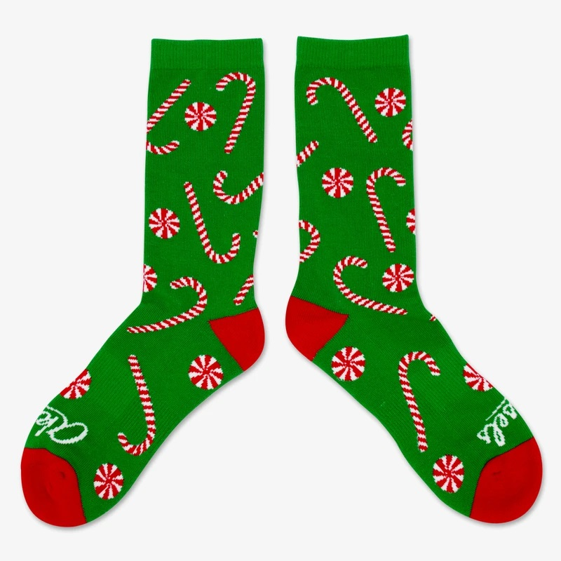 Cover Image For Candy Cane Socks by Aksels