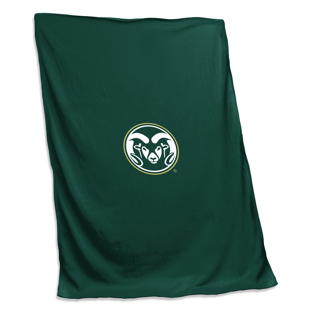 Cover Image For Green Colorado State Sweatshirt Blanket by Logo Brands