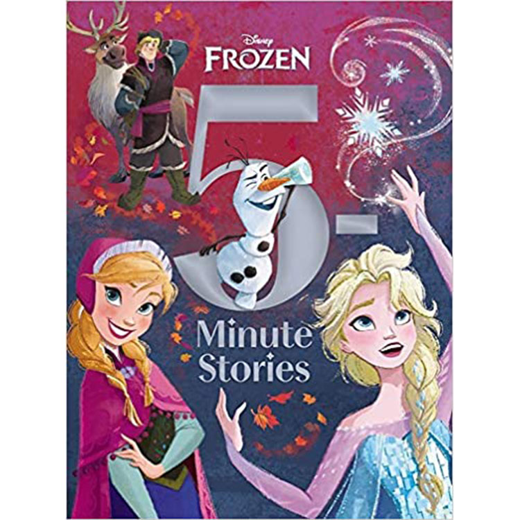 Image For 5 Minute Frozen Stories by Disney Books