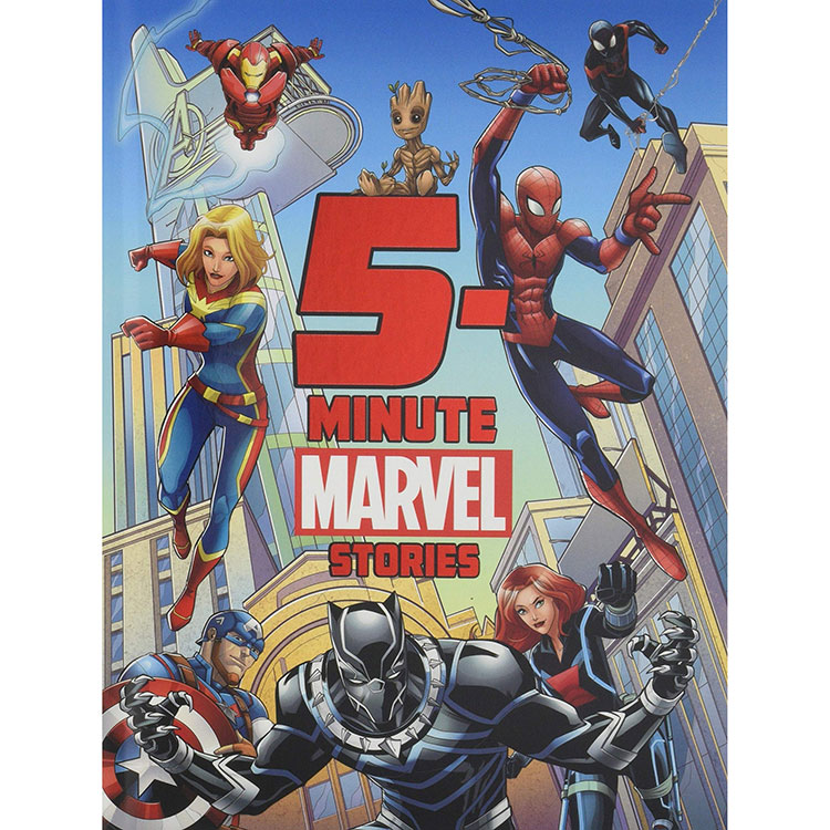 Image For 5-Minute Marvel Stories by Marvel Press Book Group