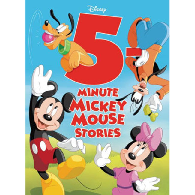 Image For 5-Minute Mickey Mouse Stories by Disney Books