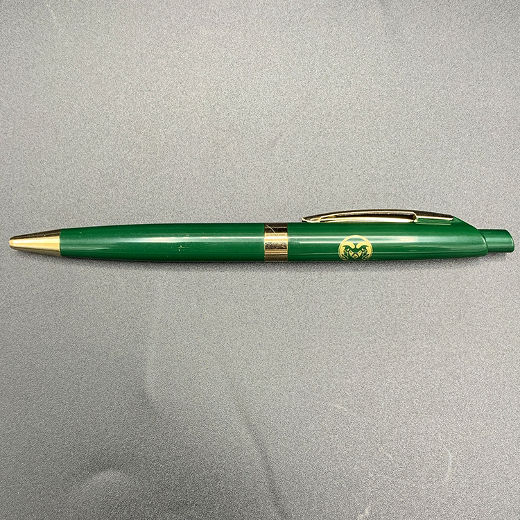 Cover Image For CSU Green & Gold Click Pen