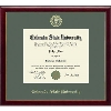 Image for CSU Embossed Galleria Diploma Frame